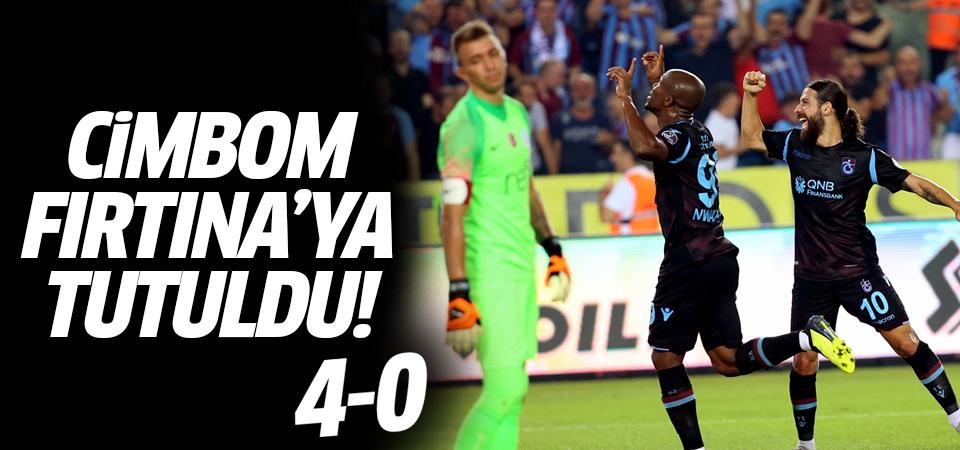 Cimbom Fırtına'ya tutuldu! Trabzonspor farklı kazandı