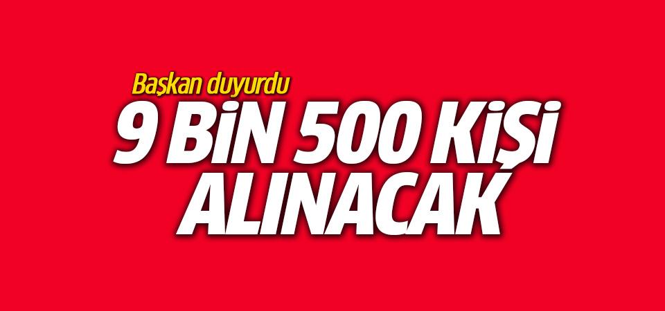 Başkan açıkladı Diyanet'e 2018'de 9 bin 500 kişi alınacak