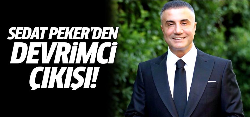 Sedat Peker'den Devrimci çıkışı!