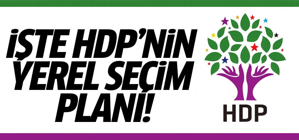 İşte HDP'nin yerel seçim planı!