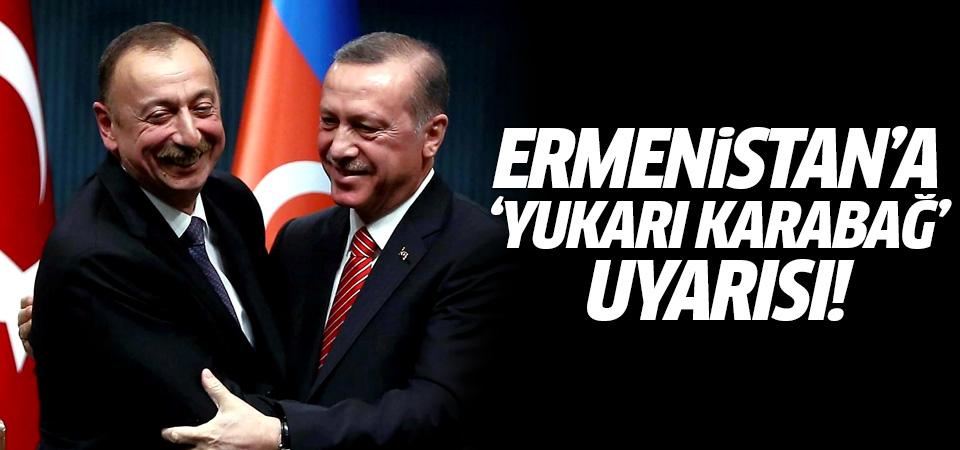 Erdoğan'dan 'Yukarı Karabağ' mesajı