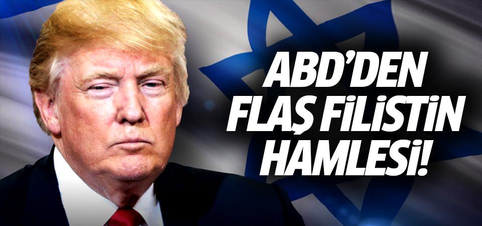 ABD'den flaş Filistin kararı!