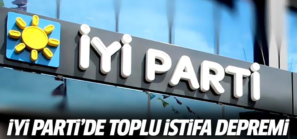İYİ Parti'de toplu istifa depremi