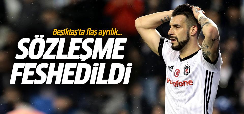 Beşiktaş ile Negredo'nun yolları ayrıldı! Sözleşme feshedildi...