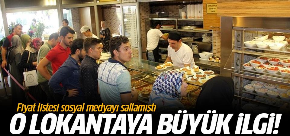 Fiyat listesi sosyal medyayı sallamıştı: O lokantaya yoğun ilgi!