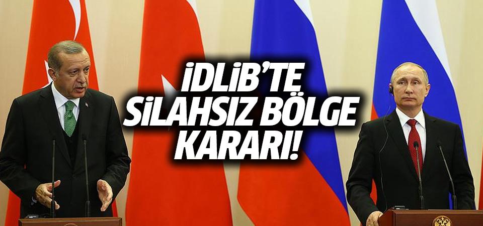Erdoğan-Putin zirvesinde mutabakat sağlandı!
