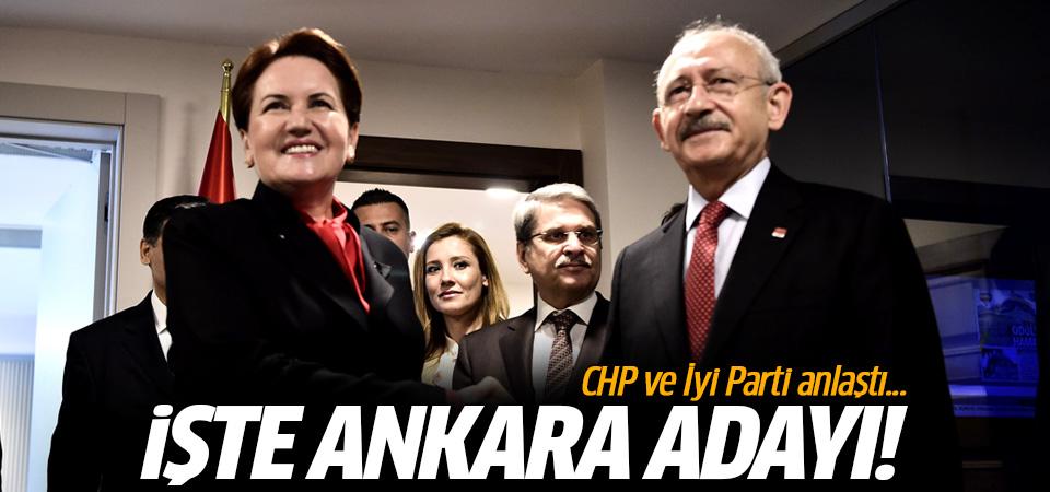 CHP ve İyi Parti anlaştı! İşte Ankara adayı...