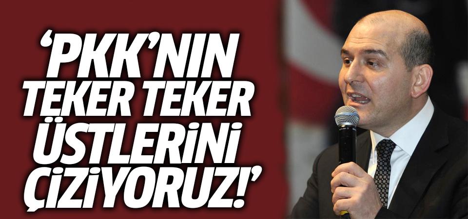 İçişleri Bakanı Soylu: PKK'nın teker teker üstlerini çiziyoruz!