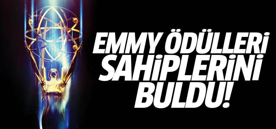 Emmy Ödülleri sahiplerini buldu!