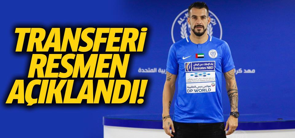 Negredo transferi resmen açıklandı
