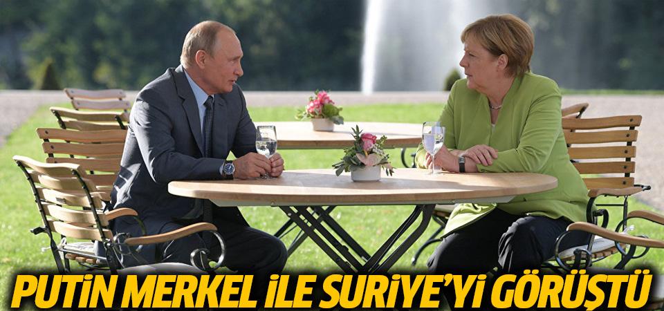 Putin, Merkel'e Erdoğan'la yaptığı İdlib anlaşmasını anlattı