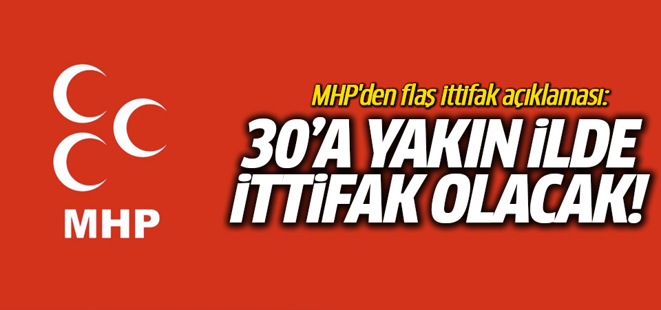 MHP'li Kara: 30'a yakın ilde ittifak olacak