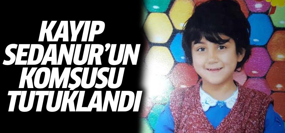 Kayıp Sedanur'un komşusu tutuklandı