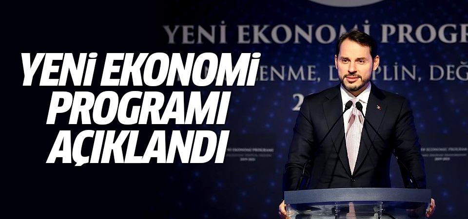Yeni Ekonomi Programı açıklandı