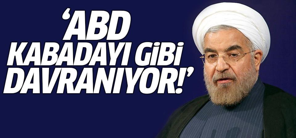 Ruhani'den saldırıya ilişkin açıklama: ABD kabadayı gibi davranıyor