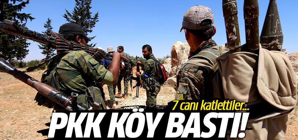 Terör örgütü PKK'dan alçak hamle! Köy basıp 7 canı katlettiler