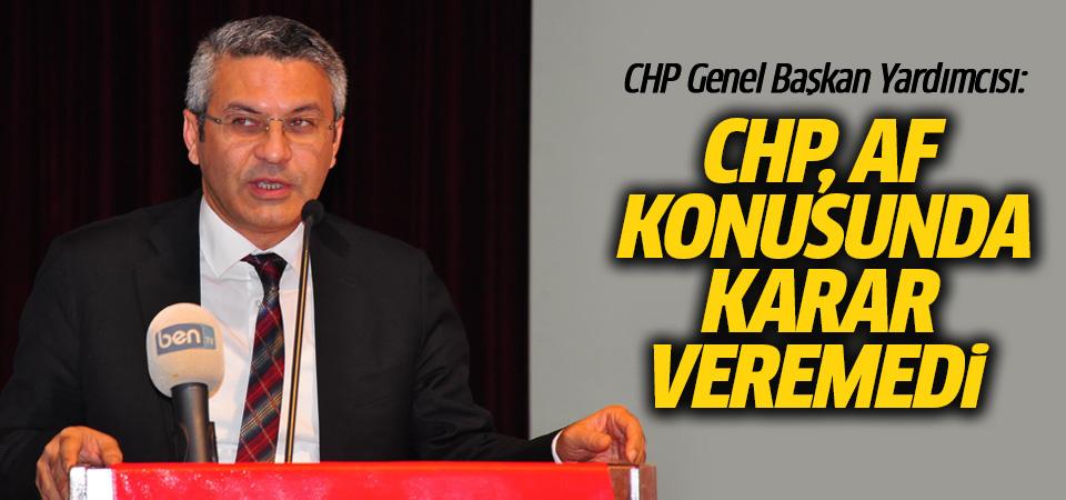 CHP af konusunda karar veremedi