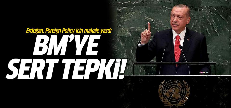 Erdoğan, Foreign Policy için makale yazdı