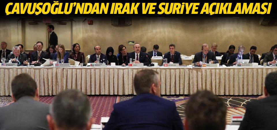 Çavuşoğlu: DEAŞ, El Kaide, Nusra, PKK, PYD/YPG hâlâ duruyor