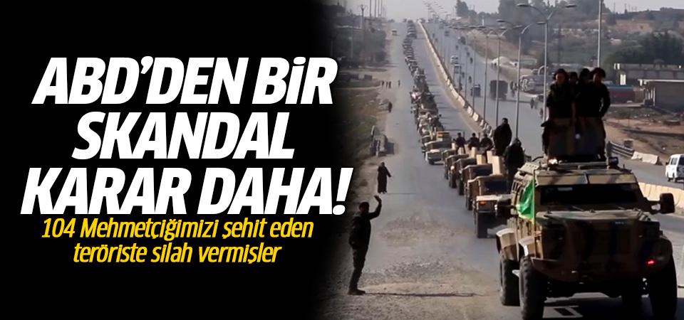 ABD, 650 tır silahı 104 Mehmetçiğimizi şehit eden PKK'lı teröriste teslim etti