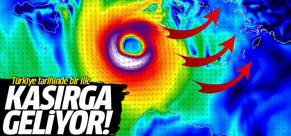 Türkiye tarihinde bir ilk: Kasırga geliyor!