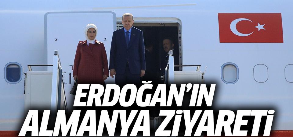 Erdoğan'ın Almanya ziyareti