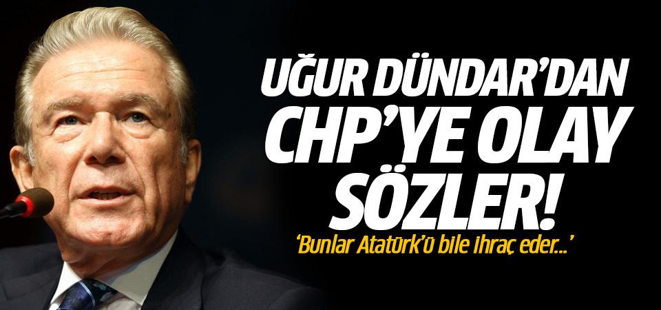 Uğur Dündar isyan etti: Bunlar Atatürk'ü bile ihraç eder!