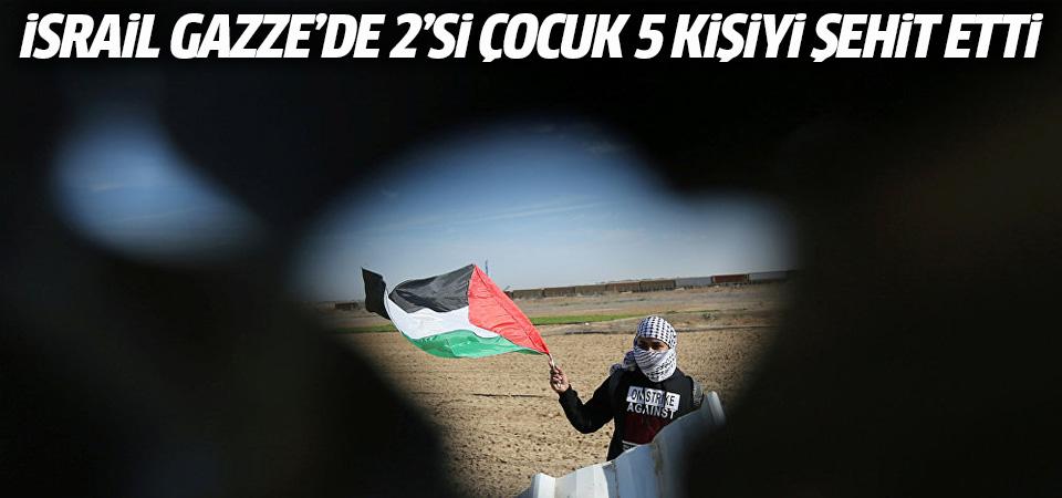 İsrail işgal güçleri yine saldırdı: 5 Filistinli şehit
