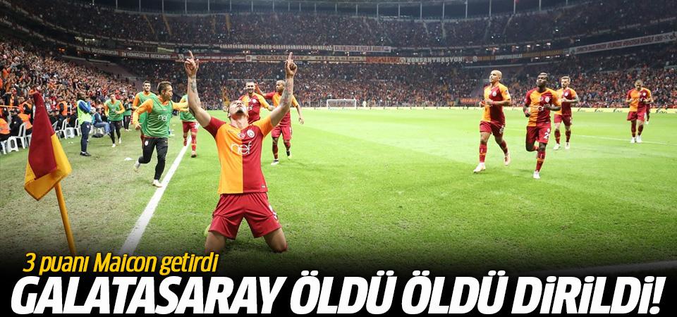 Galatasaray - Erzurumspor maçı golleri ve geniş özeti