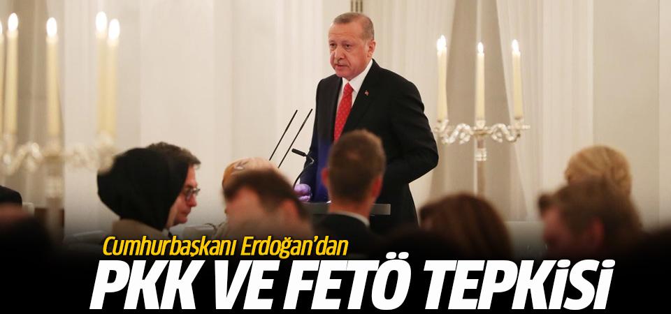 Erdoğan'dan Almanya'ya PKK ve FETÖ tepkisi