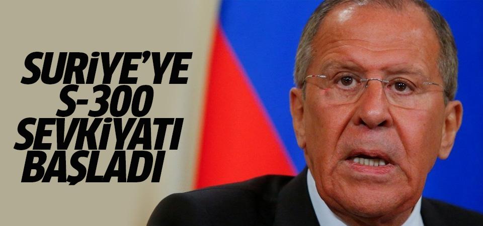 Lavrov: Suriye'ye S-300 sevkiyatı başladı