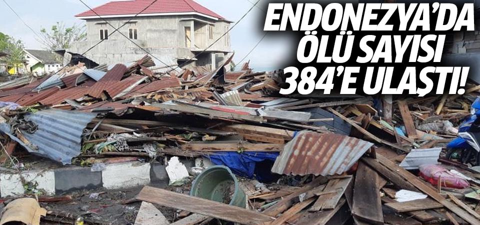 Endonezya'da ölü sayısı 384'e ulaştı!