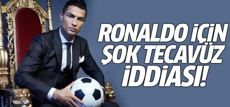 Ronaldo için şok tecavüz iddiası!