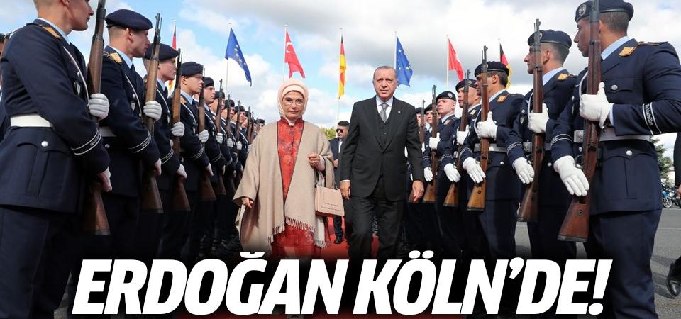 Erdoğan Köln'de!