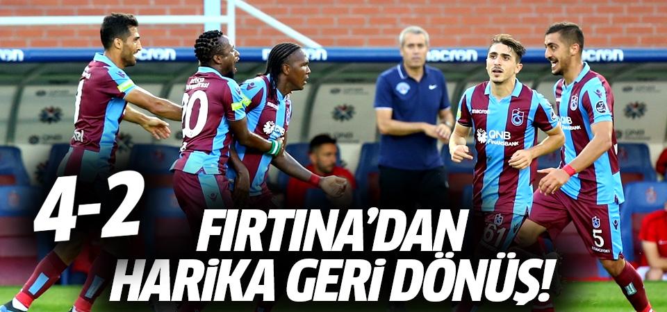 Trabzonspor'dan harika geri dönüş! 4-2