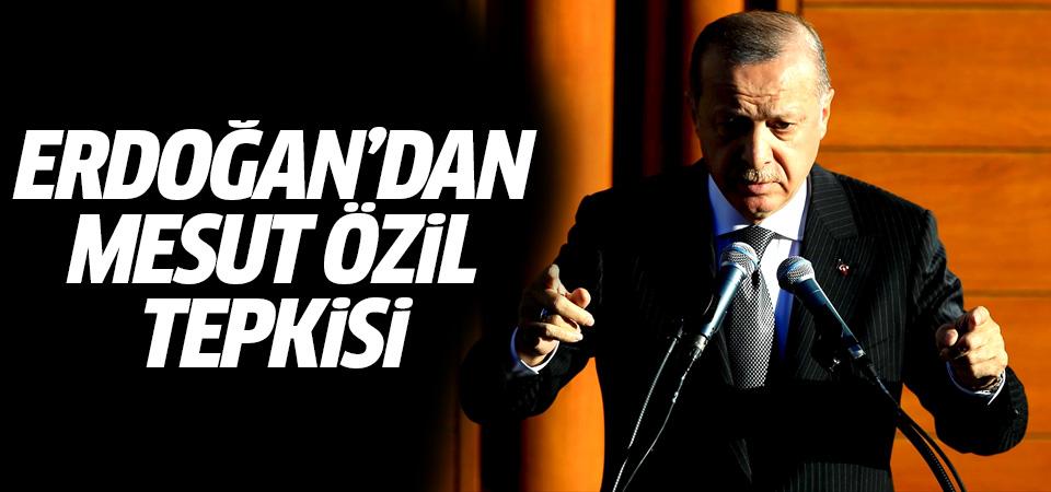 Erdoğan'dan Mesut Özil tepkisi: Fotoğraf çektirdim diye...