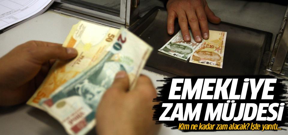 Emekliye zam müjdesi! Maaşlar 106 lira artacak!