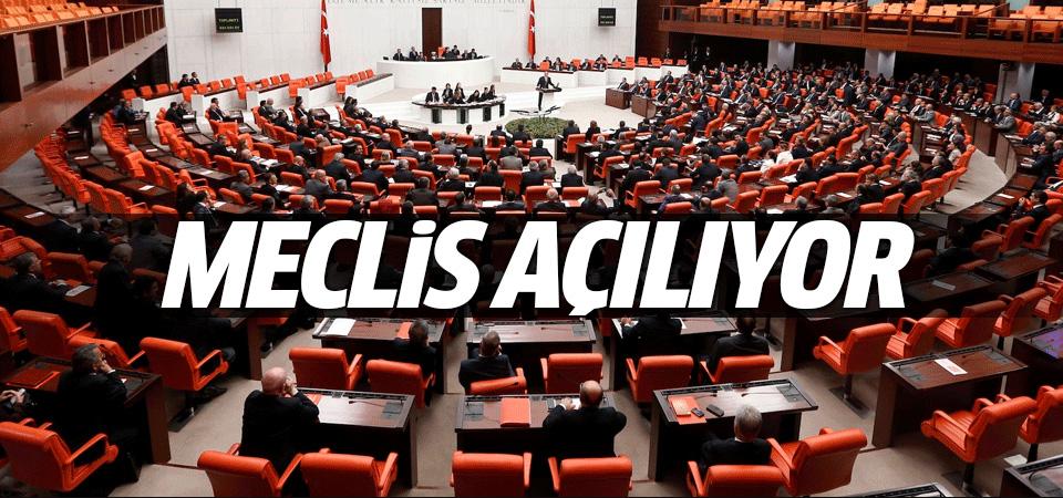 Yeni Meclis'in mesaisi bugün başlıyor!