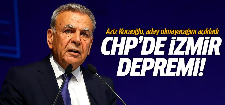 Aziz Kocaoğlu, aday olmayacağını açıkladı