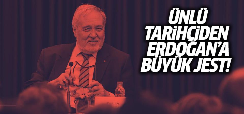 Erdoğan ile görüşen İlber Ortaylı'dan dikkat çeken karar