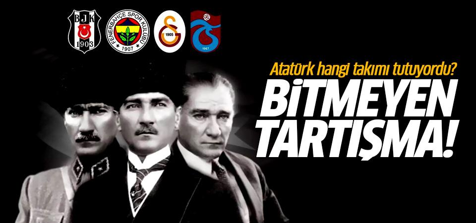 Atatürk hangi takımı tutuyordu? Fenerbahçeli mi, Galatasaraylı mı, Beşiktaşlı mı?