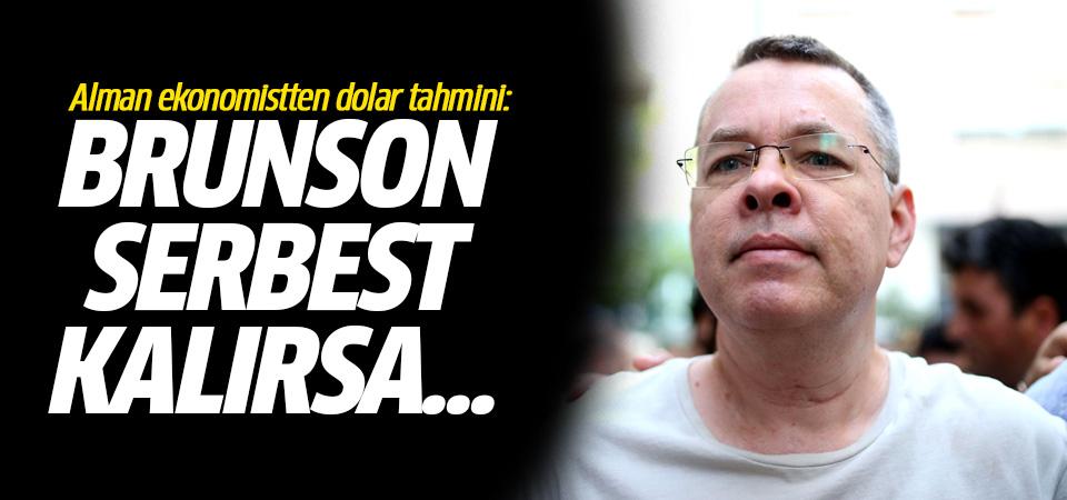 Commerzbank'tan dolar/TL tahmini: Brunson serbest kalırsa...
