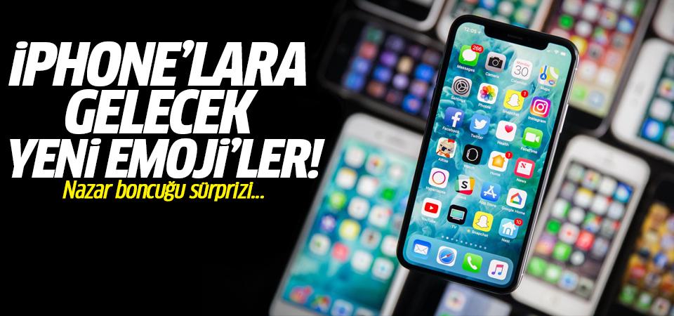 İşte iPhone'lara gelecek yeni emoji'ler! Nazar boncuğu sürprizi...