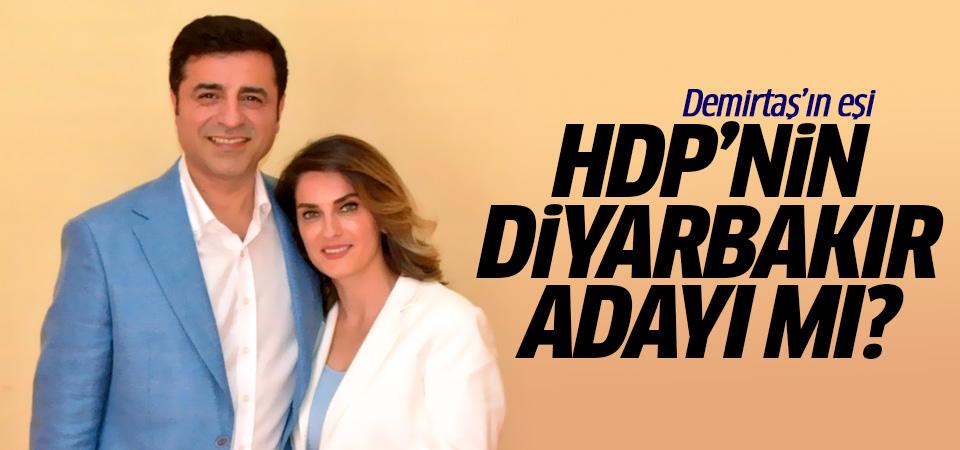 Demirtaş'ın eşi HDP'nin Diyarbakır adayı mı? Flaş iddia...
