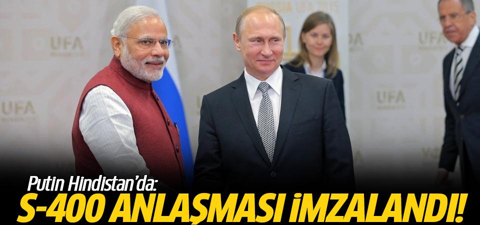 ABD'yi çıldırtacak gelişme! Rusya Hindistan'a 5 adet S-400 sattı!