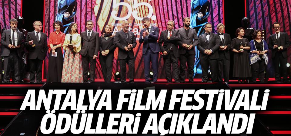 Antalya Film Festivali ödülleri açıklandı