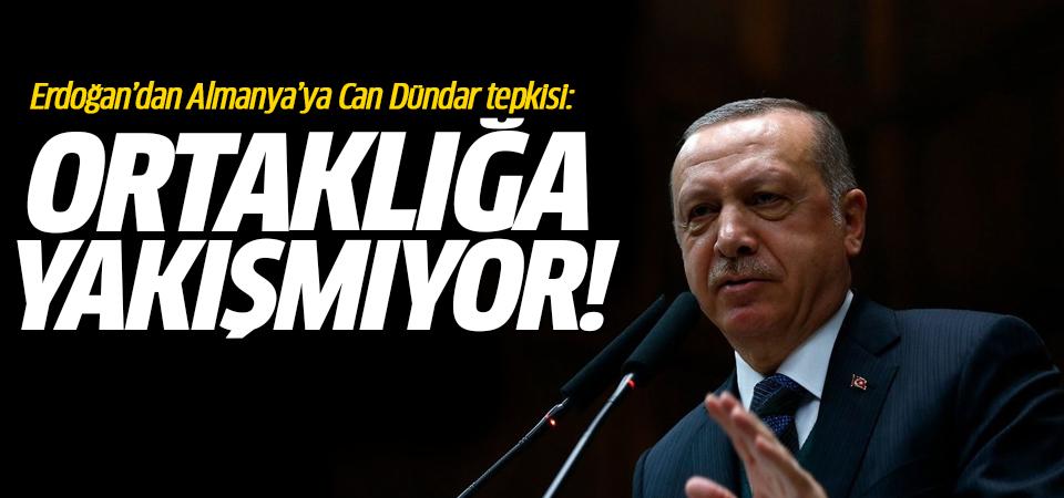 Erdoğan'dan Almanya'ya Can Dündar tepkisi: Ortaklığa yakışmıyor!
