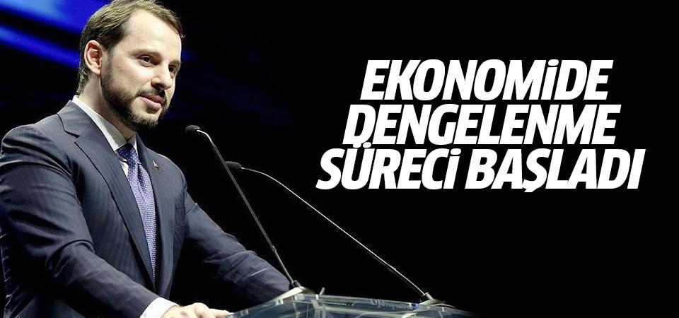 Hazine ve Maliye Bakanı Albayrak: Ekonomide dengelenme süreci başladı