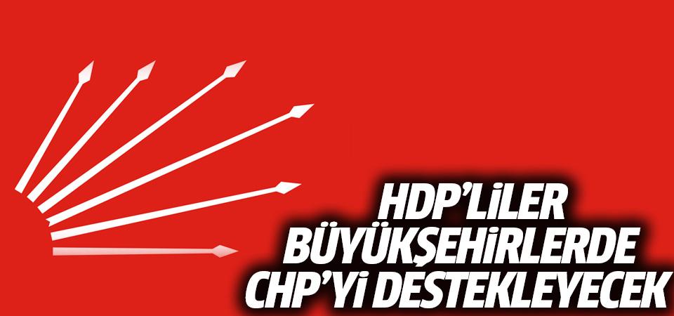 HDP büyükşehirlerde CHP'yi destekleyecek