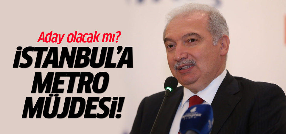İBB Başkanı Uysal'dan metro açıklaması